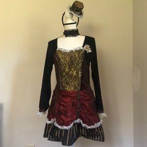 Steampunk Beauty Costume